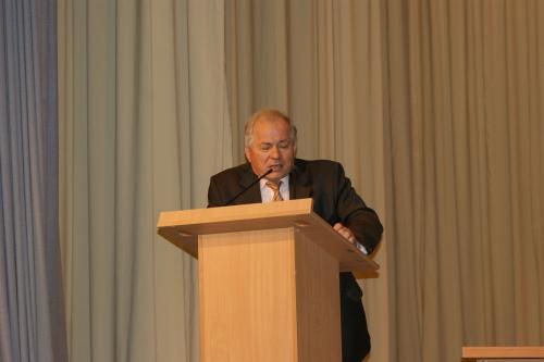 Выступление Бунтова С.Д. - Ректора УдГУ