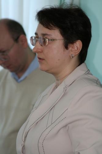Специалист отдела социальных выплат ОПФР по УР Е.Г.Минеева.