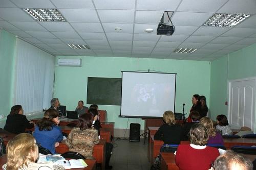 Выступление представителей Православного Молодежного театра.
